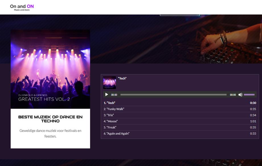 Webshop gebouwd in Magento